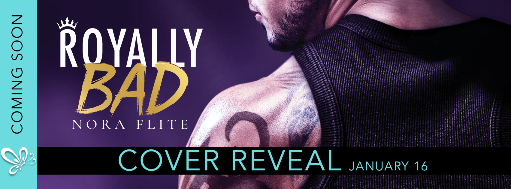 Royally Bad by Nora Flite Cover Reveal + Giveaway