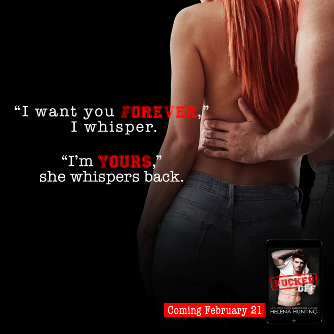 A photo teaser and quote from Pucked Off by Helena Hunting