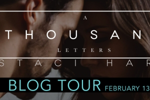 Blog Tour A THOUSAND LETTERS by Staci Hart