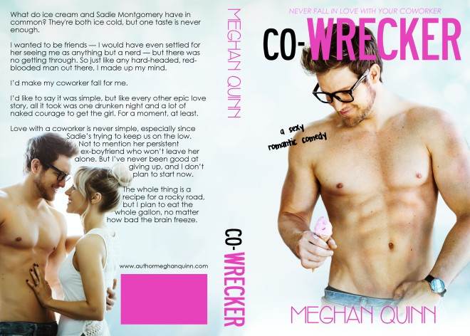 Book Cover, Co-Wrecker, by Meghan Quinn