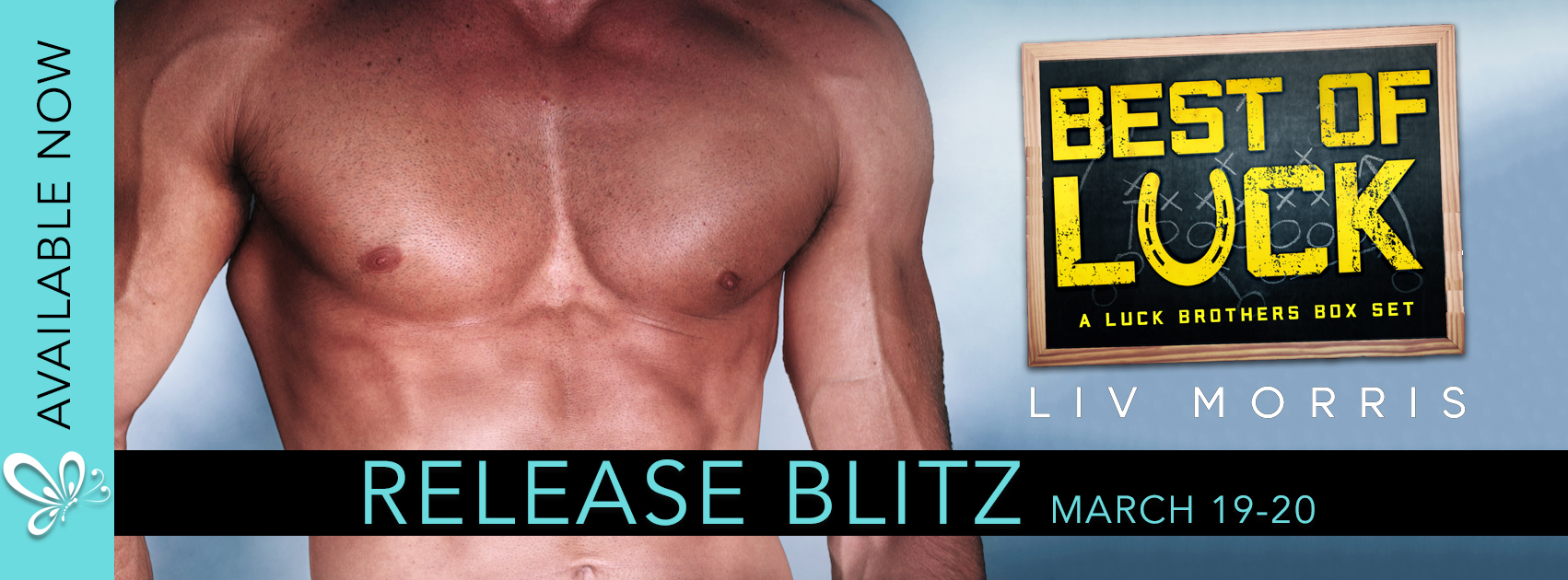 Release Blitz: Best of Luck by Liv Morris