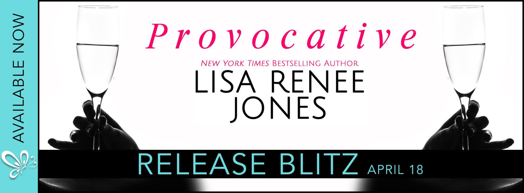 Release Blitz: Provocative by Lisa Renee Jones