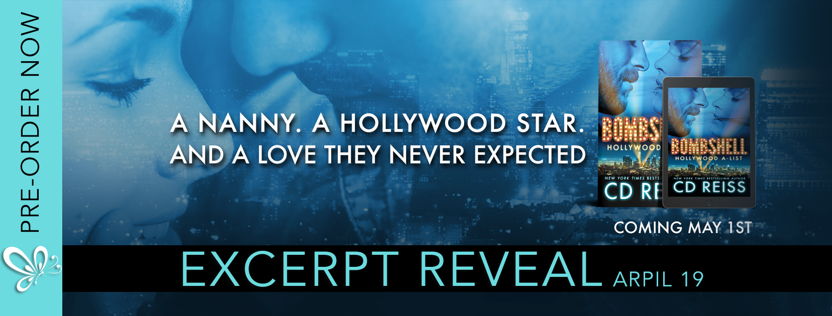 Excerpt Reveal: Bombshell by CD Reiss