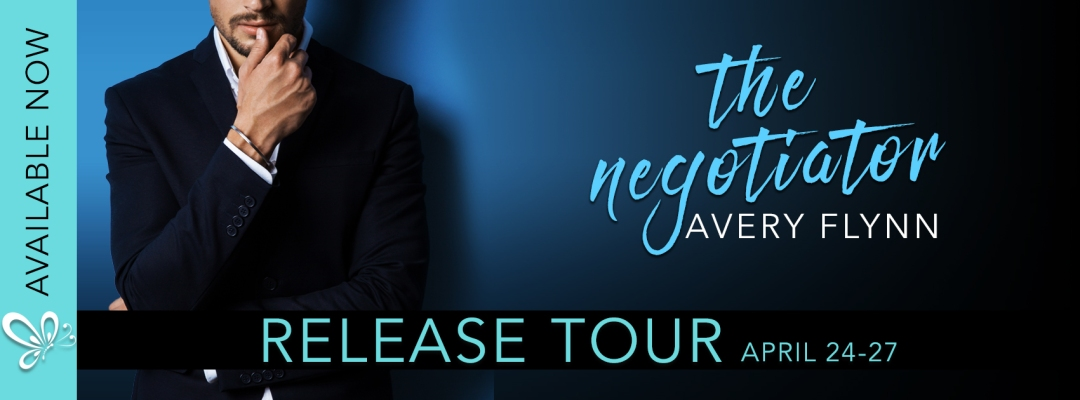 sbprbanner thenegotiator releasetour Happy Book Birthday The Negotiator and Love On Tap