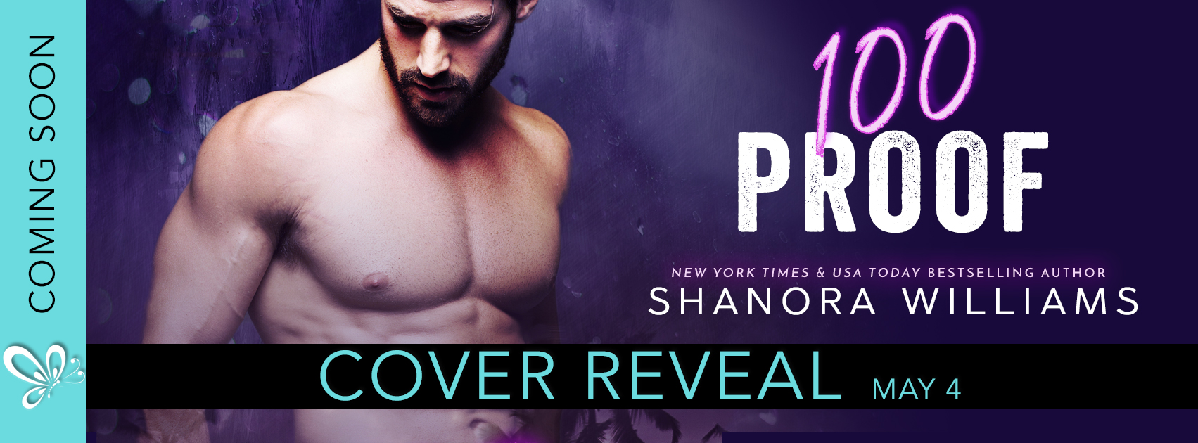 Cover Reveal: 100 Proof by Shanora Williams