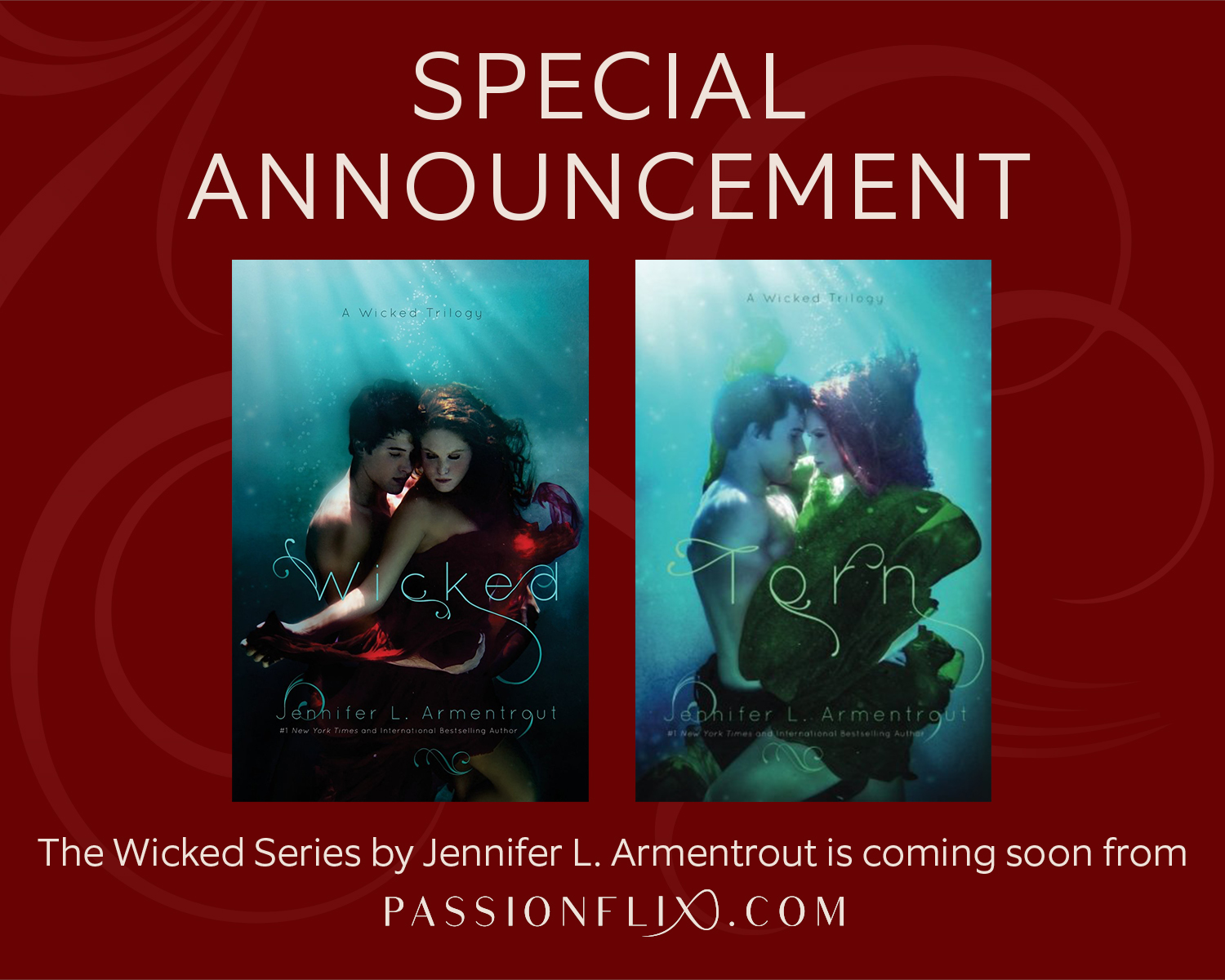 Announcement:  Wicked Series by Jennifer L. Armentrout