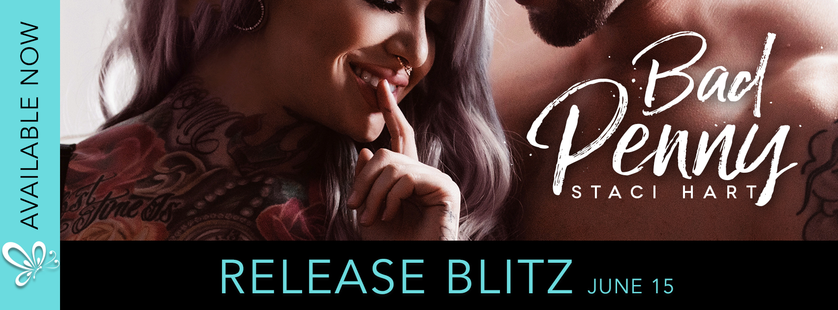 [New Release] BAD PENNY by Staci Hart @imaquirkybird @jennw23 #Excerpt #UBReview