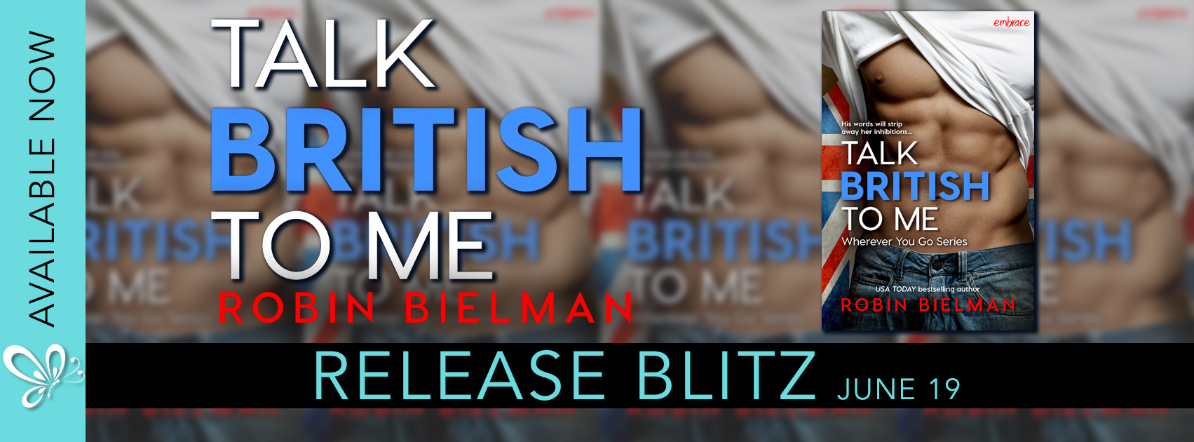 New Release – Talk British to Me by Robin Bielman