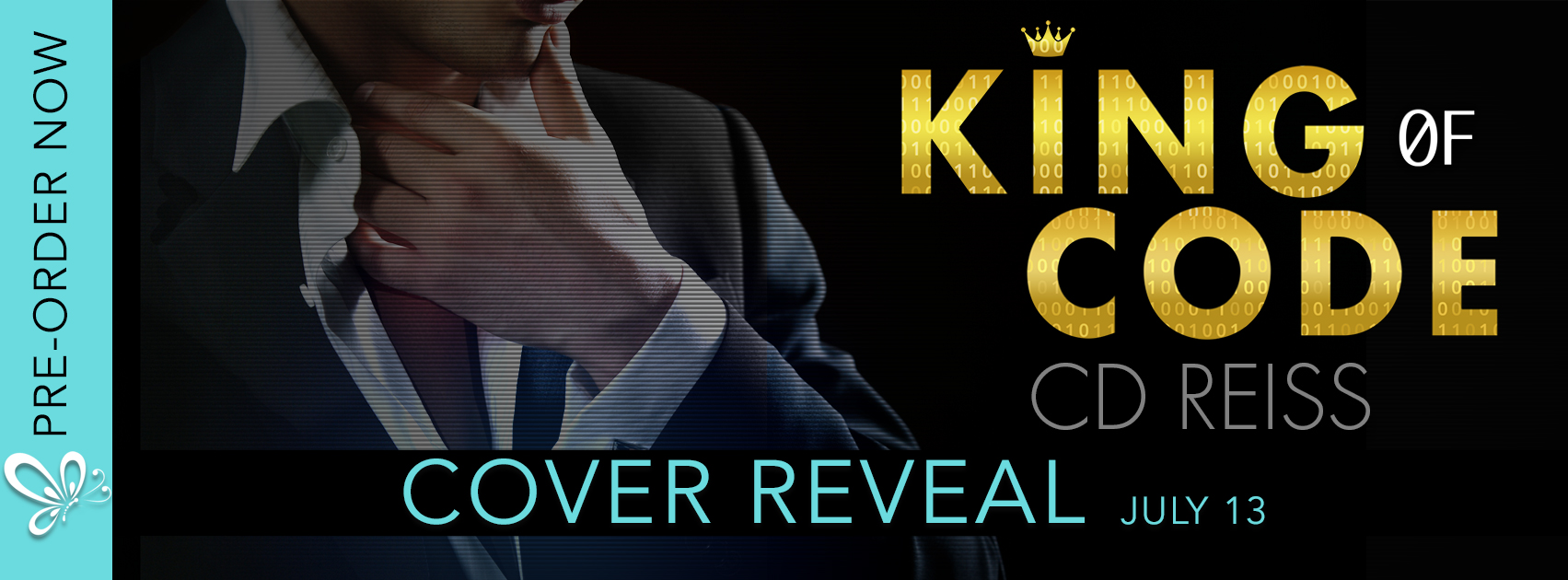 King of Code cover reveal banner