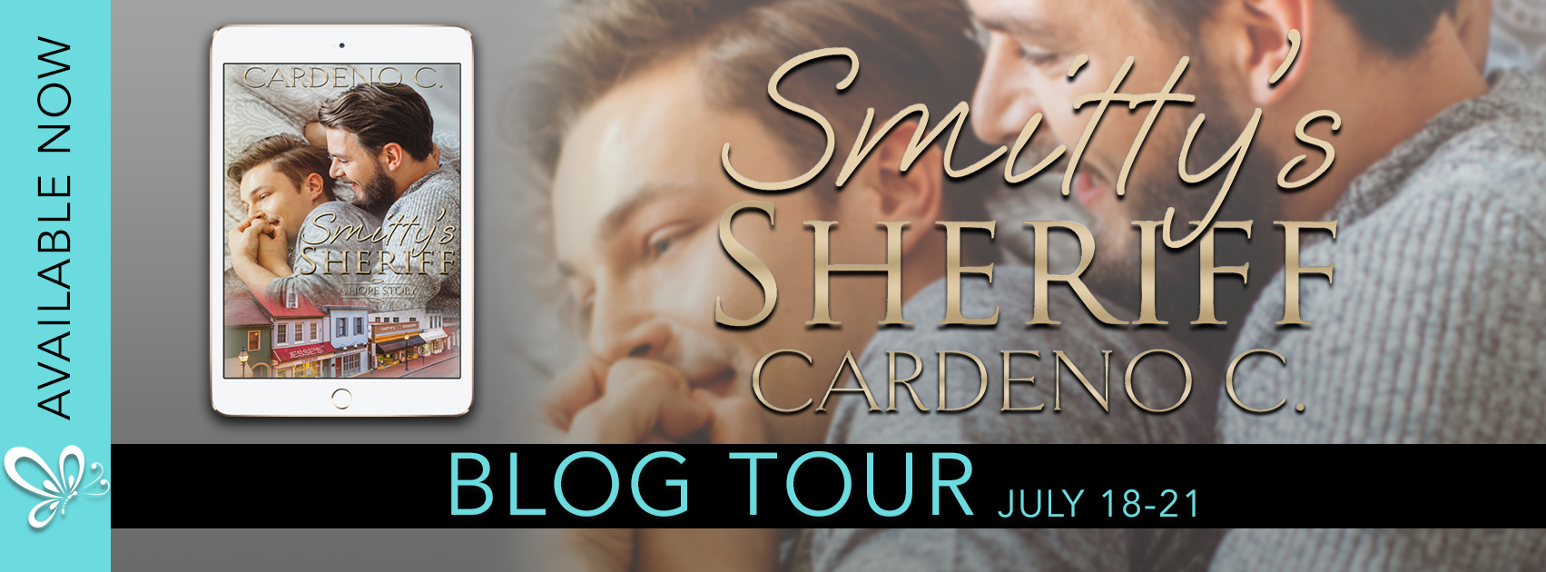 Blog Tour: Spotlight incl Exclusive Exerpt -- Cardeno C - Smitty's Sheriff