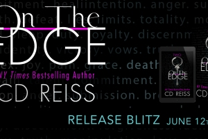 Release Blitz ON THE EDGE by CD Reiss