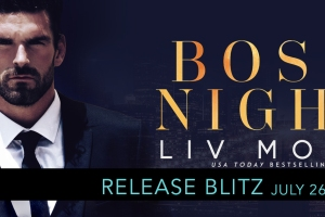 Release Blitz BOSSY NIGHTS by Liv Morris