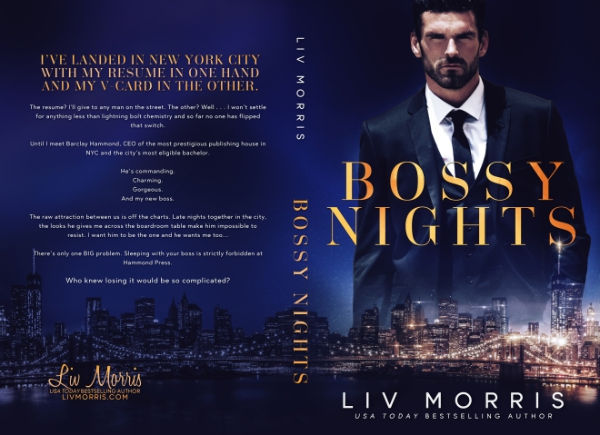 Bossy Nights Book Cover featuring Stuart Reardon