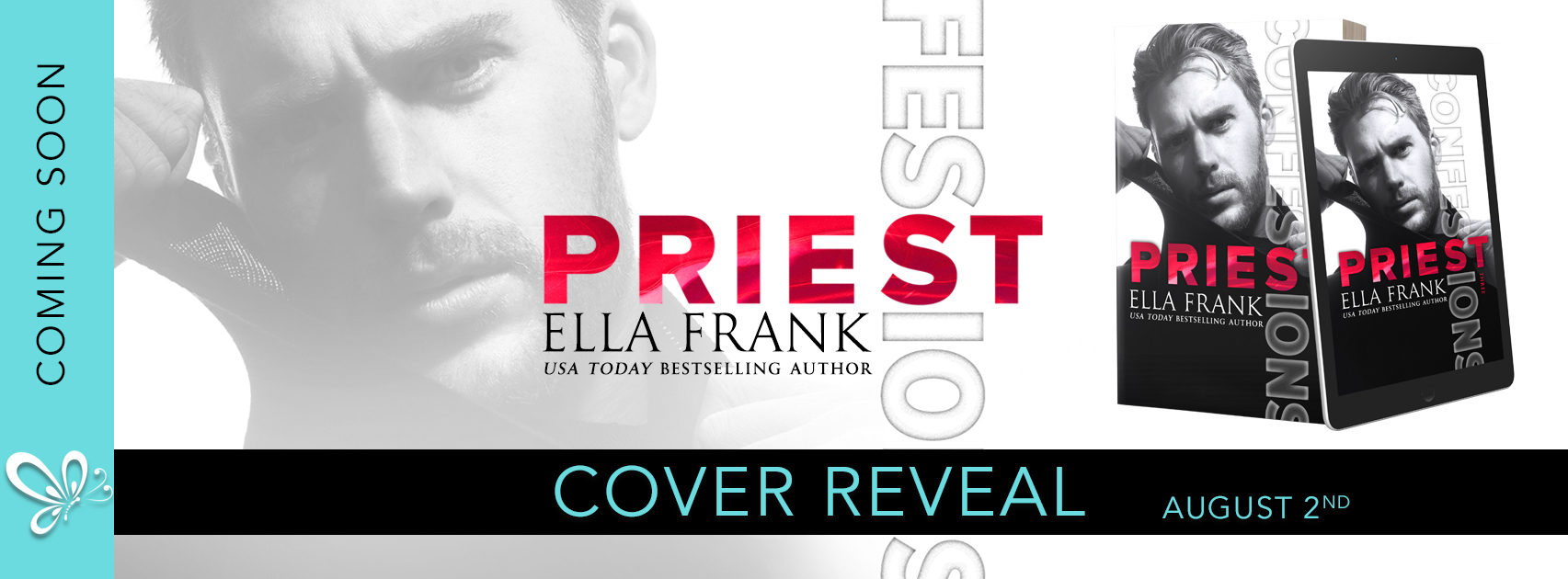 Cover Reveal: Confessions: Priest by Ella Frank