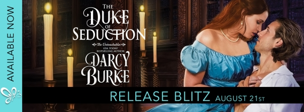 The Duke of Seduction RELEASE BLITZ banner
