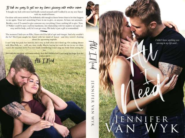 All I Need_5x8 Paperback