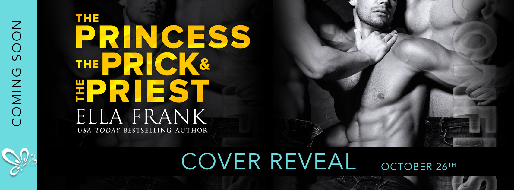Cover Reveal: Confessions: The Princess, The Prick, and The Priest by Ella Frank