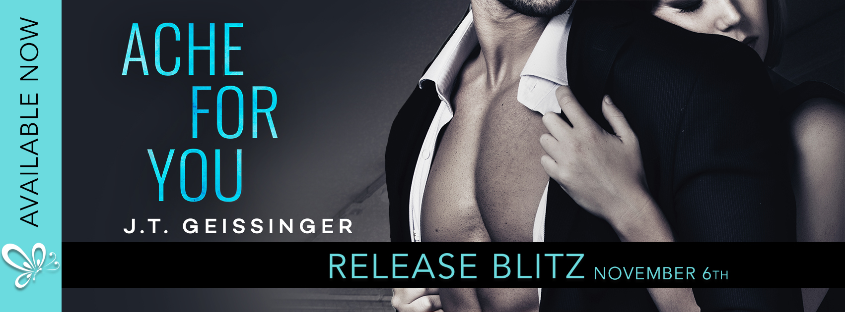 Release Blitz ~ ACHE FOR YOU by J.T. Geissinger