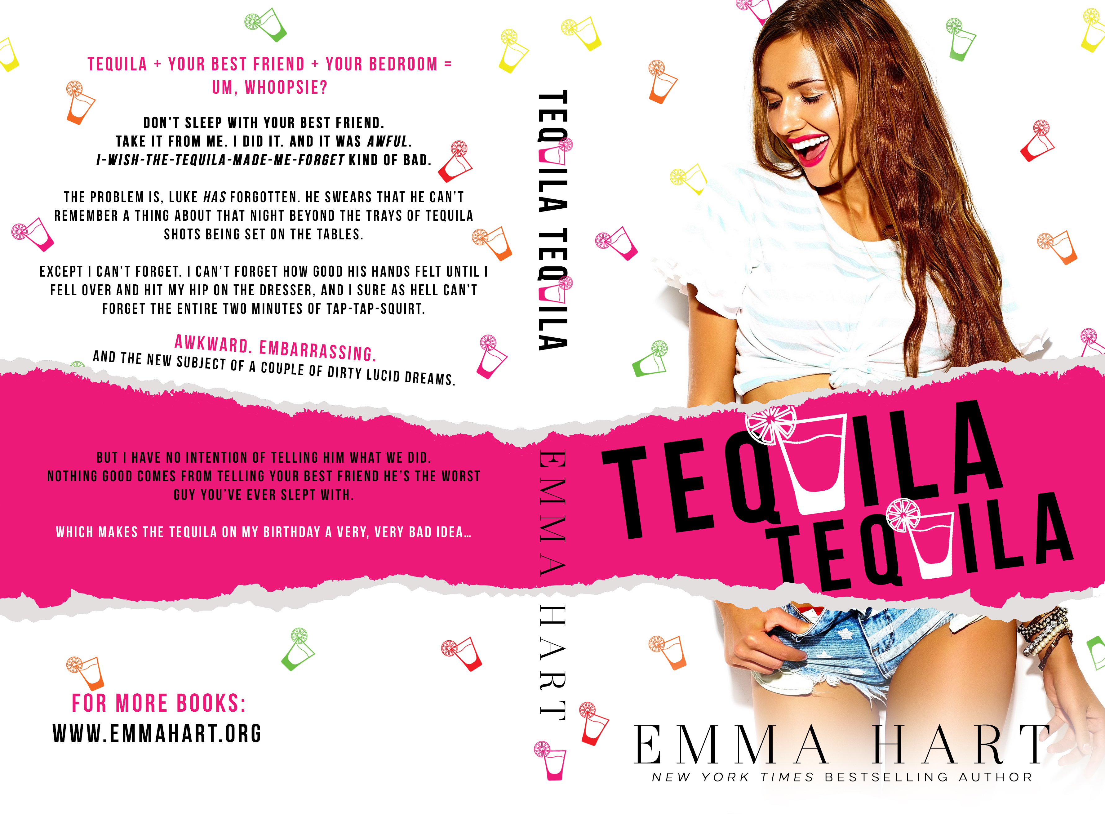 Blog Tour, 5 Heart Reviews & Excerpt - Tequila, Tequila, Emma Hart