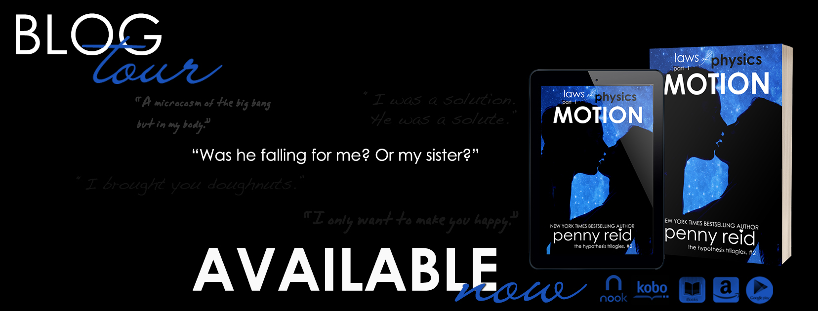 [Blog Tour] Motion by Penny Reid