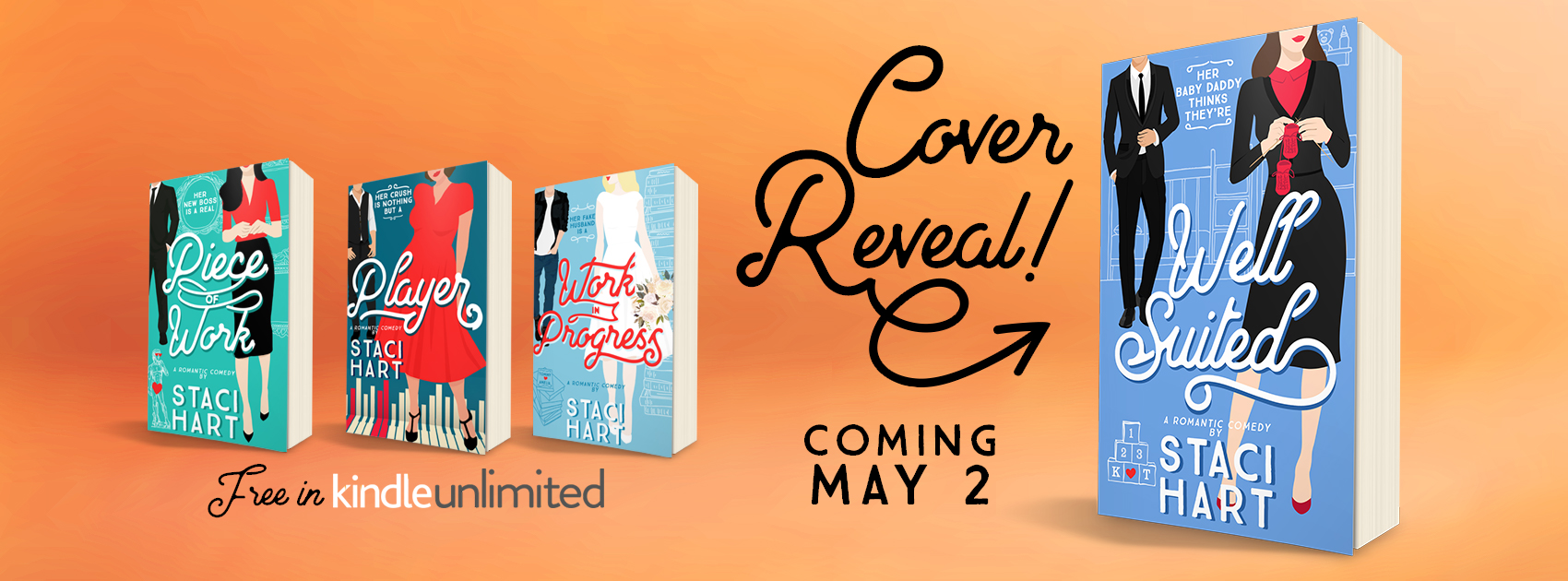 Cover Reveal: Well Suited by Staci Hart