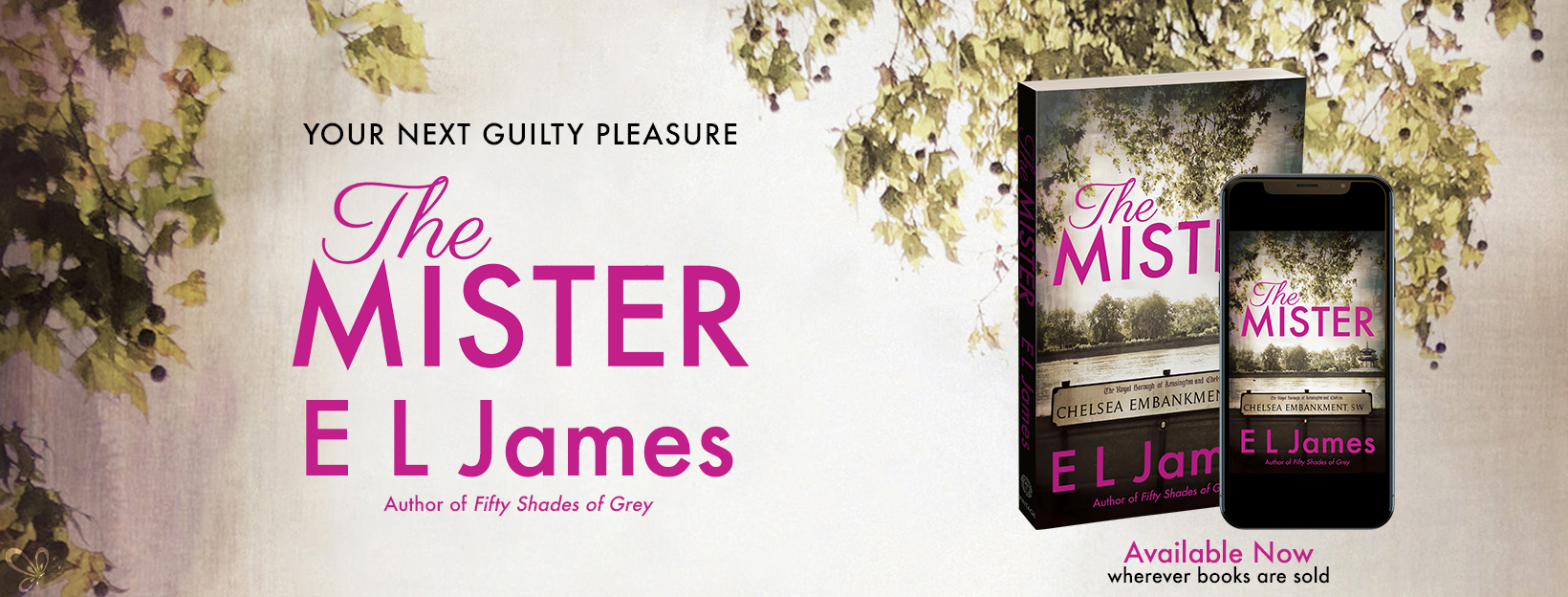 Release Blitz: The Mister by E.L. James
