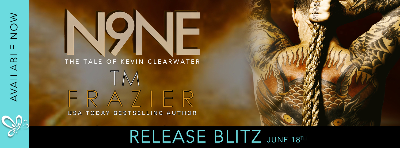 [Release Blitz] NINE: THE TALE OF KEVIN CLEARWATER by T.M. Frazier