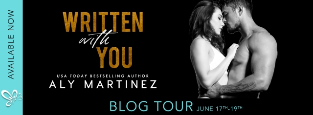 blog tour written with you banner