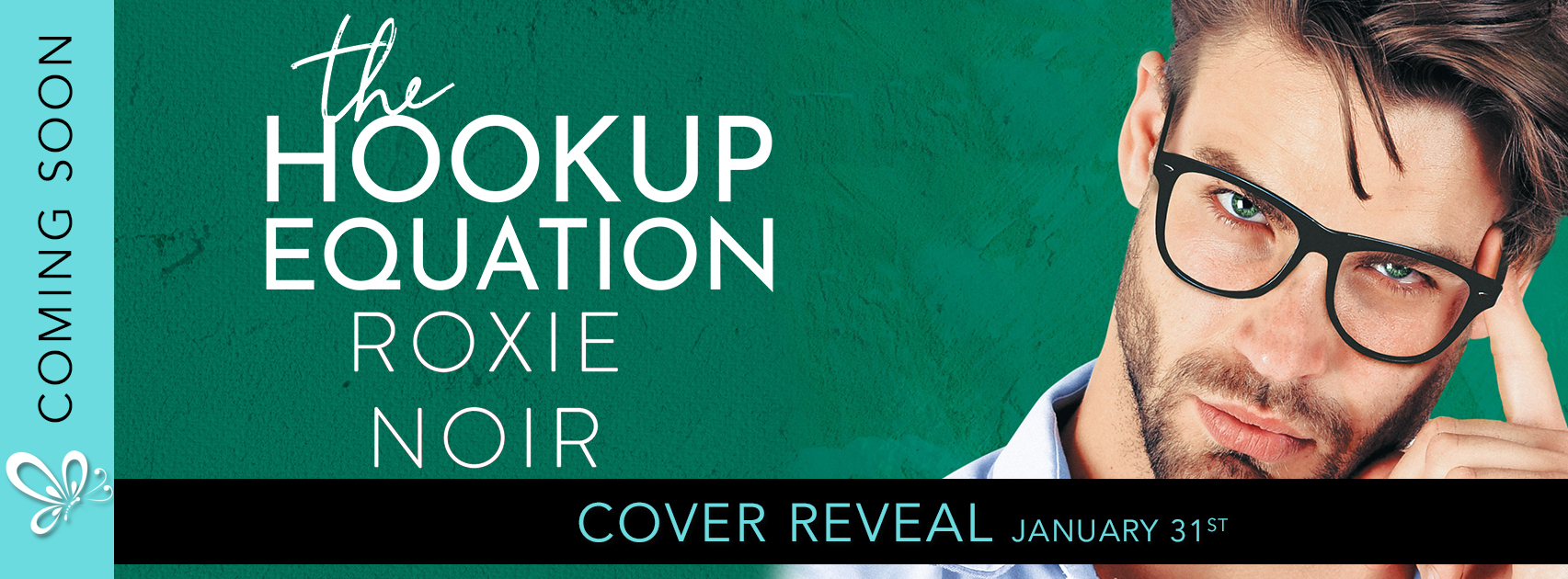 Cover Reveal: The Hookup Equation by Roxie Noir