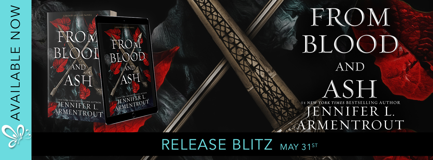 SURPRISE RELEASE…….. From Blood and Ash by Jennifer L. Armentrout